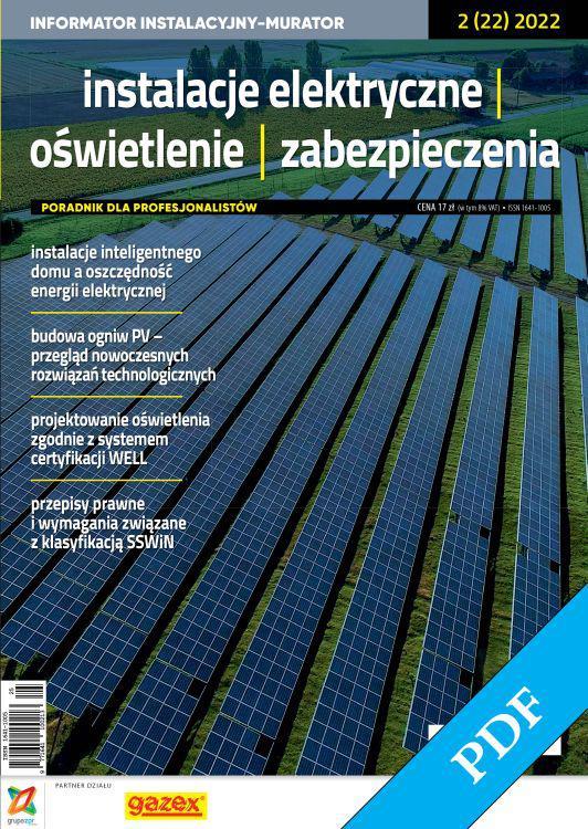 Instalacje Elektryczne, Oświetlenie, Zabezpieczenia 2021 - PDF