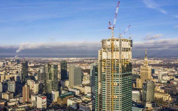 Varso Tower najwyższym budynkiem w Polsce